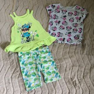 3pc Minnie Mouse bundle